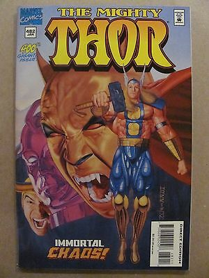 Thor #482 Marvel Comics 1966 Series 400th Thor Issue 9.2 Near Mint-