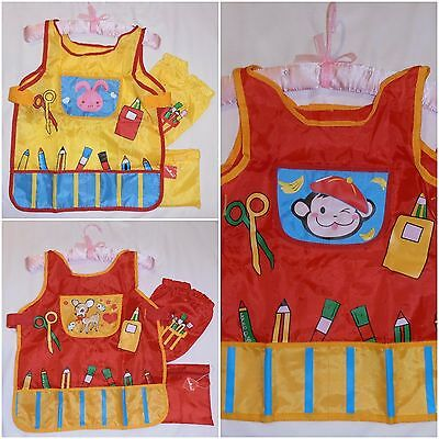 Child's Painting & Activity Apron ~ Smock ~ Age 2+ Adjustable ~ Free Post ~ New