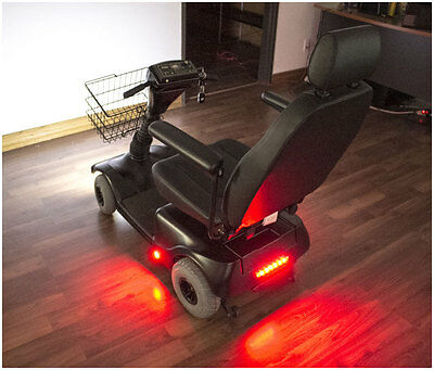 Mobility Power Chair Light Kit for Wheelchairs