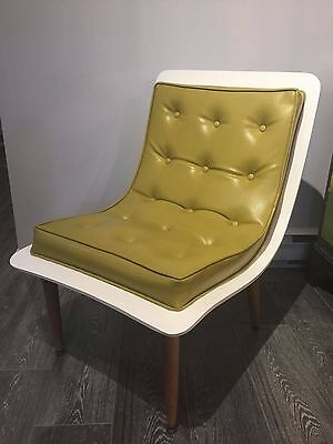 Mid Century Modern Scoop Chair by Carter Bros. Furniture