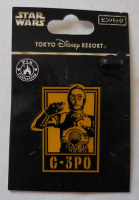 Disney pin TDR Star Wars Posters-C-3PO New