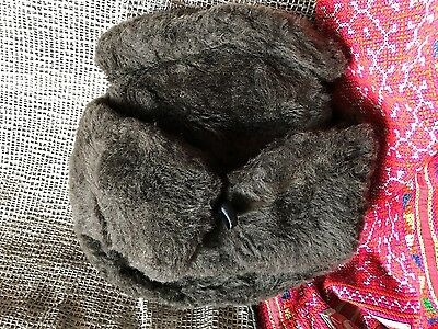 Vintage Russian Fur Hat Brown (b) …beautiful collection item