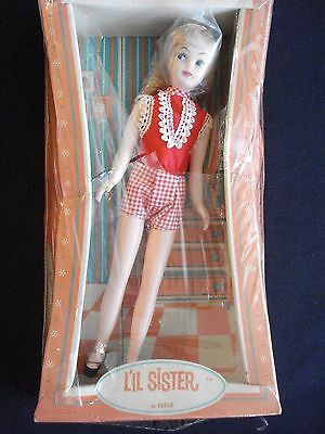 Vintage Eegee L'il Sister Skipper Doll Clone with Box in Very Good Condition