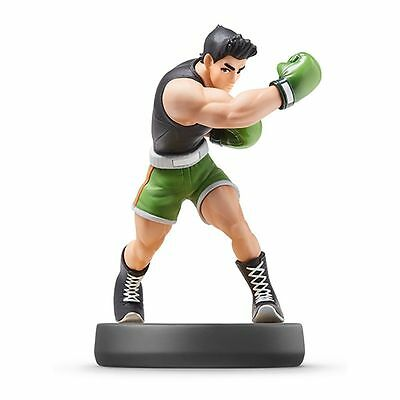Nintendo Amiibo Little Mac  Figure Super Smash Brothers 3DS Wii U From Japan