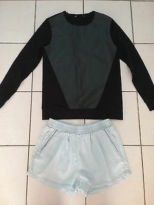 Seed Heritage Jumper And Shorts Size 8