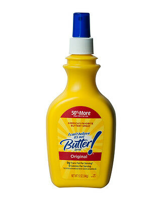 Original Spray I Can't Believe It's Not Butter Fat and Calorie free 12oz / 340g