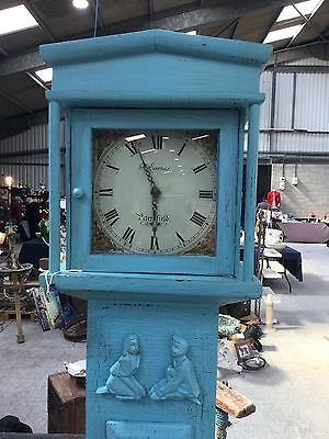 Grandfather long case clock