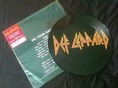 "Def Leppard - C'mon C'mon  12"" UK 2008 VG+/EX-  #  Hard Rock"
