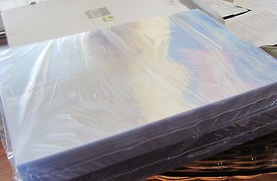 250 Q-Connect clear presentation binding Covers 150 mic A4  KF24010 FREE POSTAGE