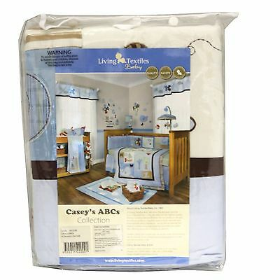 Living Textiles CASEY'S ABC All Seasons Baby Cot Quilt 100 x 120cm