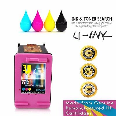 HP 61XL Color Inkjet Premium High Yield Ink Cartridge for HP 61 / 61XL