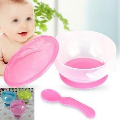 New Infant Baby Feeding Suction Base Training Bowl Slip-resistant Bowl Tableware