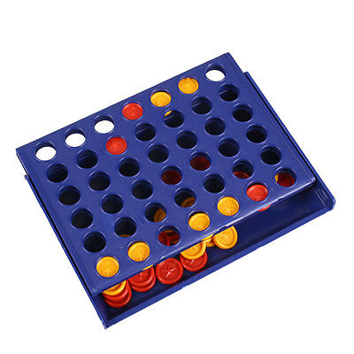 Vintage Family Connect 4 Wins Strategy Parent-Children Board Game Chess