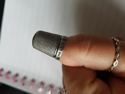 Henry Griffith The SPA thimble size 16 birmingham 1929