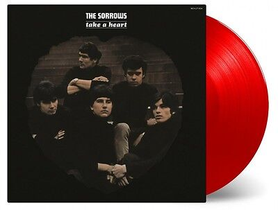 Sorrows - Take A Heart 180g RED COLOURED vinyl LP Mod Freakbeat