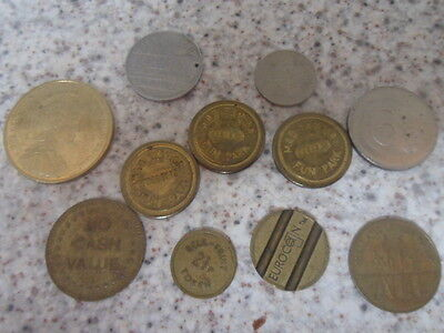 Collection of Vintage Tokens
