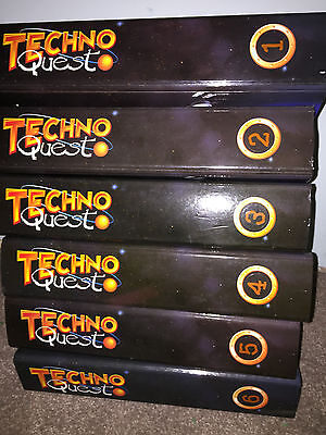 Techno Quest Magazines 6 Binders Wallace & Gromit Great Condition Classic Rare