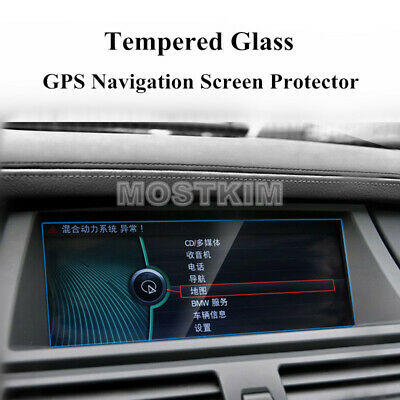 "8.8"" HD Tempered Glass GPS Navigation Screen Protector For BMW X5 X6 E70 E71"