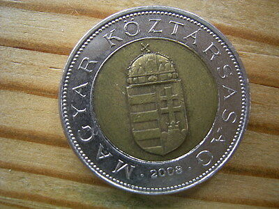2008 Hungary  100 forint Coin Collectable