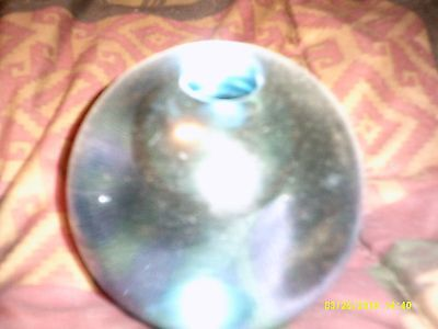 candle stands glass dual color in perfect condition