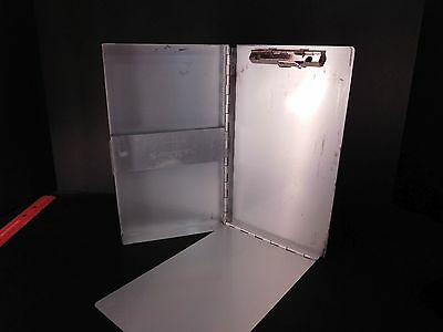 "Saunders Snapak Aluminum Memo Size Clipboard 6""x10"" Made in USA  ..8"