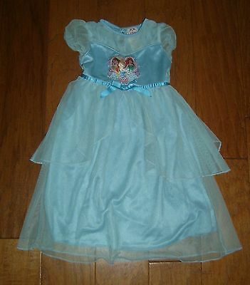 Disney Princess Turquoise Blue Nightgown, Girl's Size 3T