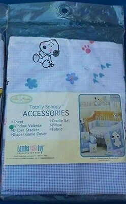 Peanuts BABY SNOOPY Window Valance Curtain - Totally Snoopy - Lambs & Ivy