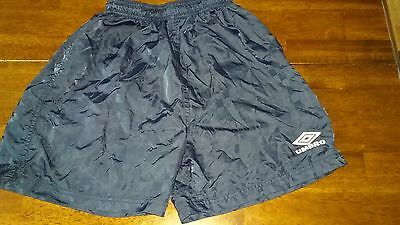 Umbro Navy Blue Boys Girls Athletic Soccer Shorts Size Youth XL
