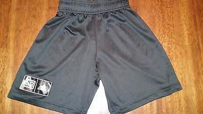 Adidas Boys Girls MLS Black Soccer Athletic Shorts Size US M UK 11-12Y