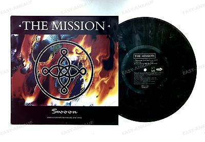 The Mission - Swoon UK Silver Vinyl 10inch Maxi 1995 Gothic //1