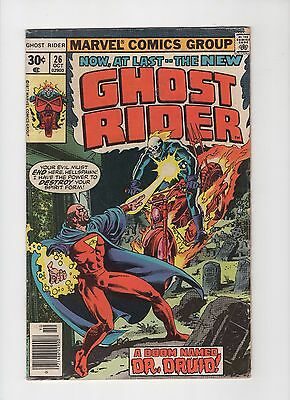 The New Ghost Rider #26 1977 Marvel Comic Books