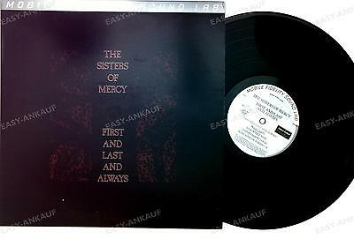The Sisters Of Mercy First And Last And Always LP Ltd Nbd #001566 MFSL //26