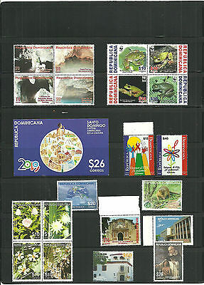 (T1-10)STAMPS,Dominican Republic,china Lot,Sheets and sets, MNH