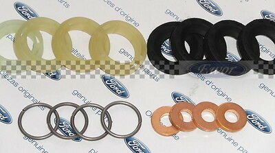 ford 1.6 tdci injector seals washers o rings fiesta fusion focus c-max 16pc set
