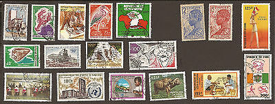 Ivory Coast. Misc from an old album. (used - MNH)