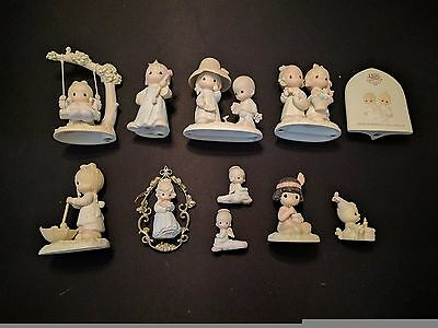Precious Moments Lot of 10 Pieces in Mint Condition with Original Boxes