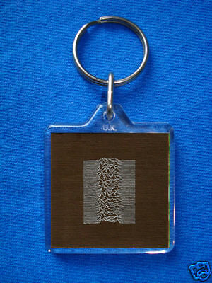 Joy Division-Unknown Pleasures Album Keyring New Order