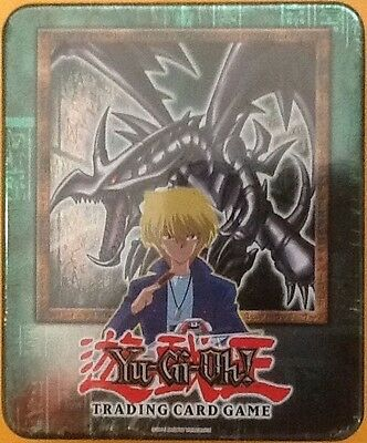 Yugioh 2002 RED EYES BLACK DRAGON TIN IN NEW GEM MINT CONDITION FACTORY SEALED