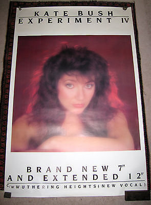 "Kate Bush Experiment IV Poster - huge, official and pristine 40"" x 60"""