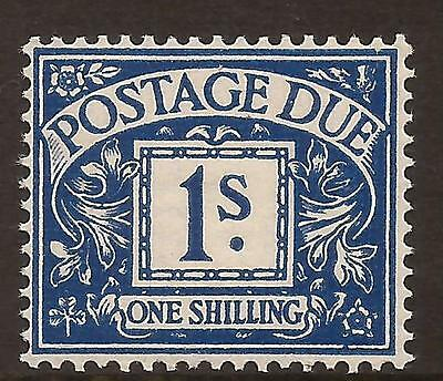 KGVI 1937-38 Postage Due - D33 1s deep blue - unmounted mint