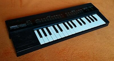 Yamaha PSS 130 Portable Electronic Keyboard Synth MIJ Japan Retro Bend Working