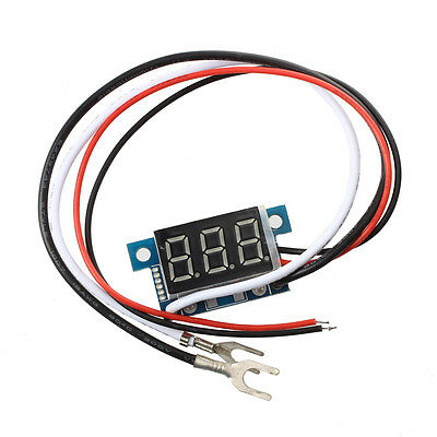 Mini Digital Ammeter Power Display Panel Meter 0-100A Blue LED P5X3