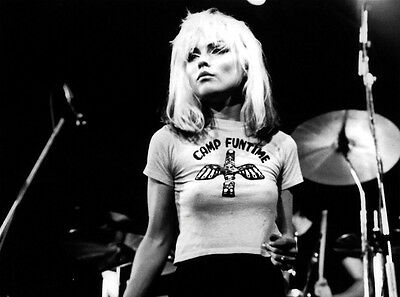 Blondie Debbie Harry Unsigned 8X10 Photo