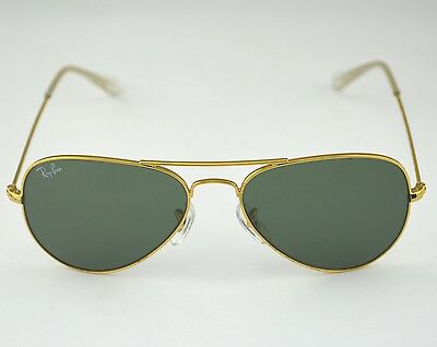 Ray Ban RB 3044 Aviator Small L0207 G15 Glass Lens Unisex Sunglasses 52mm