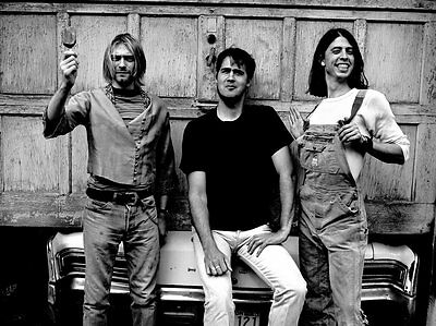 Nirvana Kurt Cobain Awesome 8X10 Photo