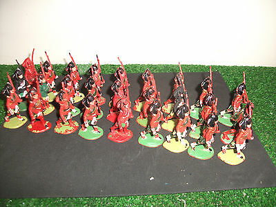 Cherilea Marching Scotish 27 Troops 1/32