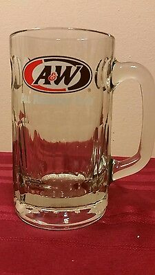 A & W All American Food Root Beer Heavy Glass Mug