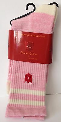 Brand New Women's iliac Golf Socks - Pink