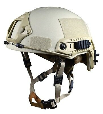 Ballistic helmet NIJ IIIA; V50 700 m/s | ARCH High Cut in Tan/khaki/coyote - L
