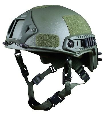 Bullet proof helmet | ARCH high cut | NIJ IIIA; V50 700 m/s | OD green | X-large